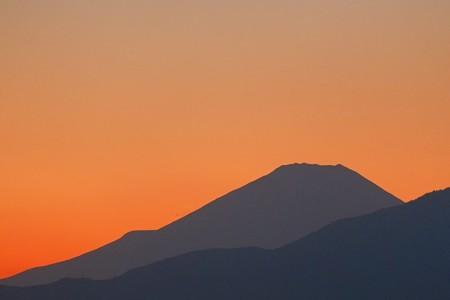 2014.11.15 駅前 富士山