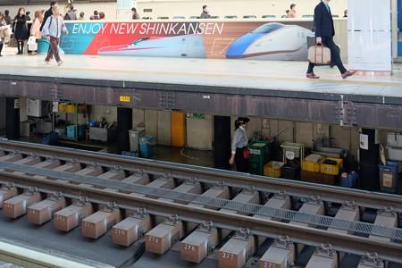 2014.11.22 東京駅 新幹線ホーム 上と下