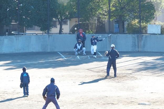 2014.12.14 公園 ソフトボール
