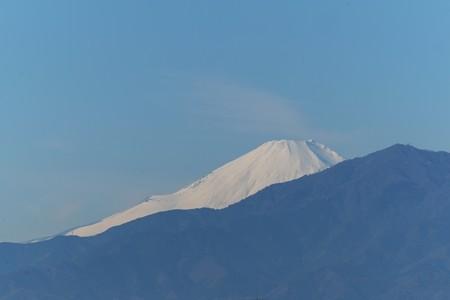 2014.12.19 駅前 富士山