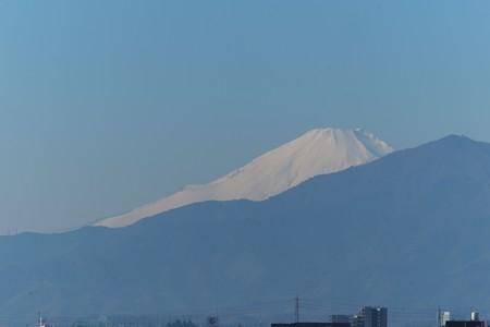 2014.12.23 駅前 富士山