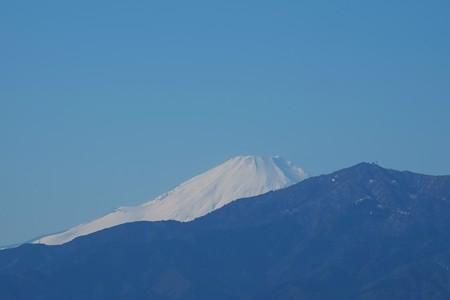 2015.01.03 駅前 富士山
