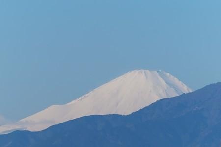 2015.01.29 駅前 富士山