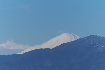 2015.02.02 駅前 富士山