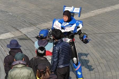 2015.02.12 パシフィコ横浜 TV番組の撮影