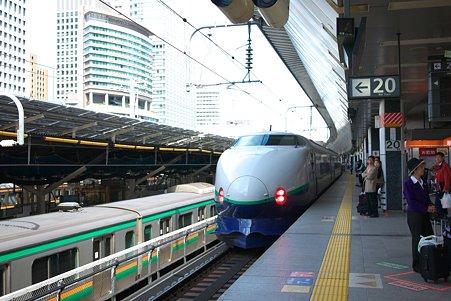 2010.09.26 東京駅 とき発車