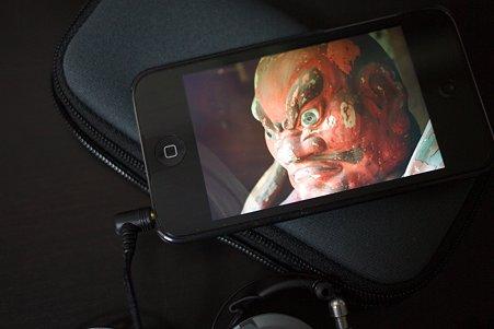 2010.11.08 机 iPod touch 写真