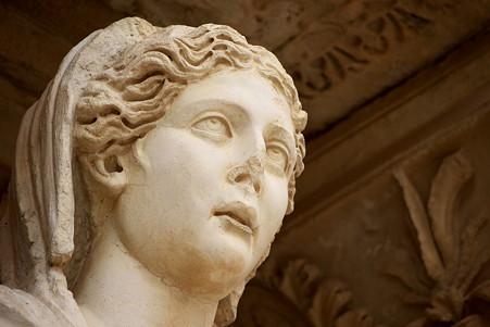 2011.01.23 トルコ 古代都市エフェス ケルスス図書館-2-1