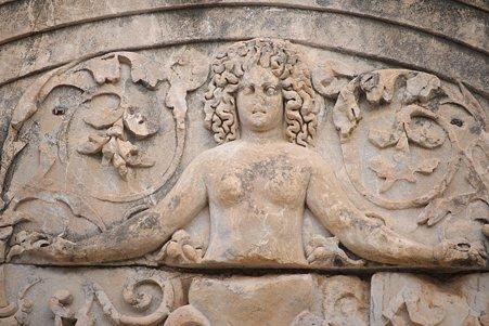2011.01.23 トルコ 古代都市エフェス メドゥーサ