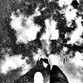 空を歩く モノクロVer.