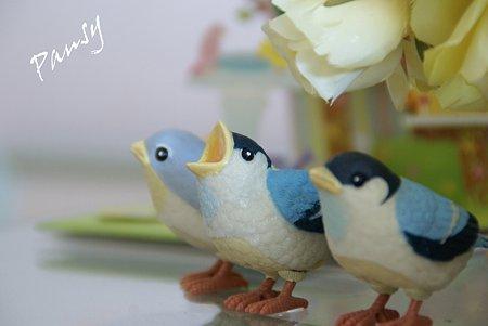小鳥たち・・