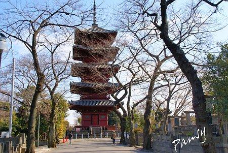 本門寺五重塔・・池上さんぽ~19