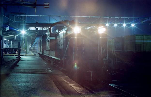 AS23-2s-だいせん5号、福知山駅に停車中