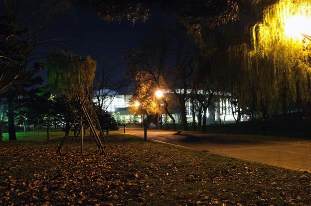 夜の札幌コンサートホールKitara