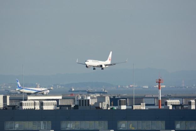 Photos: やがて着陸