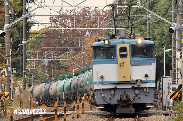 8460レ EF65 2127+タキ13B