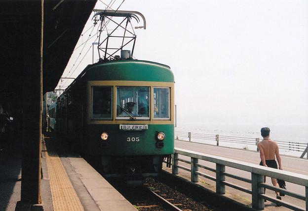 08月 江ノ電 IN 鎌倉高校前駅