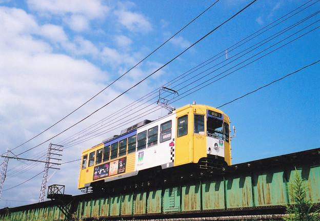 09月 万葉線 IN 庄川橋梁1