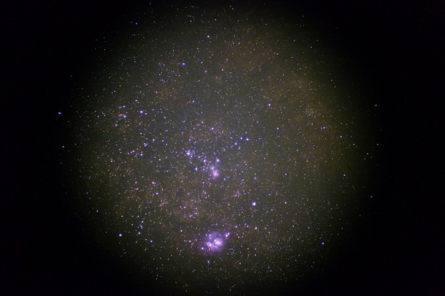 干潟星雲と三裂星雲