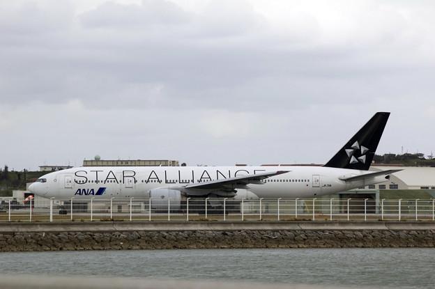 飛行機 ANA STAR ALLIANCE