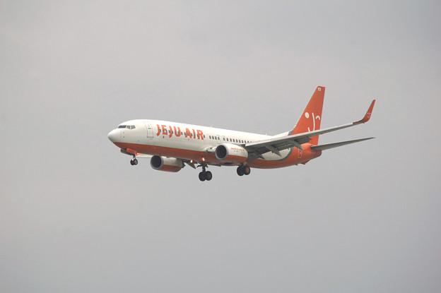 飛行機 JEJU ARE チェジュ航空(済州航空)*