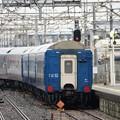 雀宮2番発車の9501レ黒磯訓練EF65 1106+24系5B