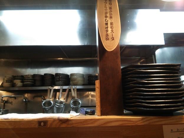 閉店したつけ麺屋を開けさせてしまいました^^;