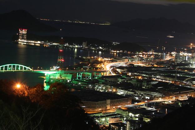 黄金山の夜景 (1)