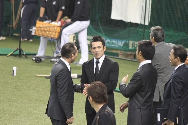 写真: 高木豊さん&稼頭央