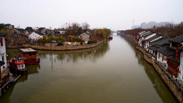 江蘇省 無錫市 南禅寺界隈 清名橋運河景区散策 ♪