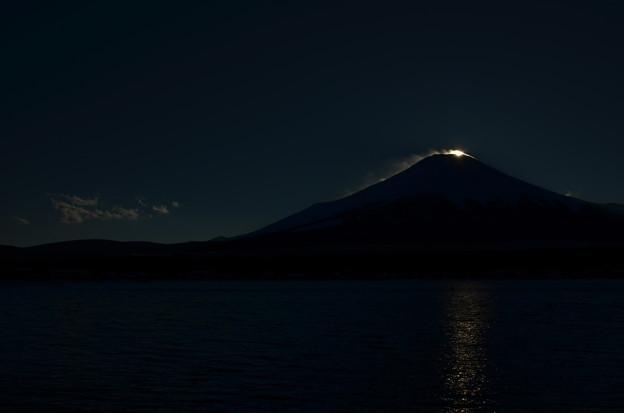 ダイヤモンド富士の名残1
