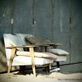 Photos: ソファーにて。