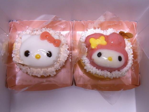 Photos: 【グルメ】キティちゃんとマイメロのケーキ|baby Mon Cher Cafe[ららぽーと横浜]