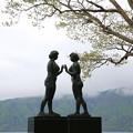 140518-14東北ツーリング・十和田湖・乙女の像