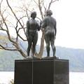 140518-16東北ツーリング・十和田湖・乙女の像