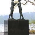 140518-17東北ツーリング・十和田湖・乙女の像