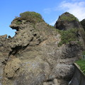 Photos: 140829-33北海道ツーリング・親子熊岩