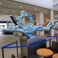 Photos: 140829-47北海道ツーリング・函館フェリーターミナル内部にあったモニュメント