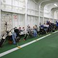 140829-51北海道ツーリング・津軽海峡フェリー内のバイク群