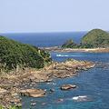 写真: 100514-104佐多岬からの海6