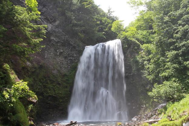 写真: 100720-3善五郎の滝2