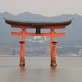 Photos: 110516-56四国中国地方ロングツーリング・厳島神社・大鳥居