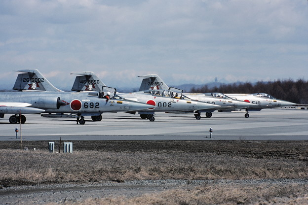F-104J CTS36end 203sq 81Apr