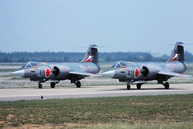 F-104J 46-8619 207sq KMQ 1982Jun