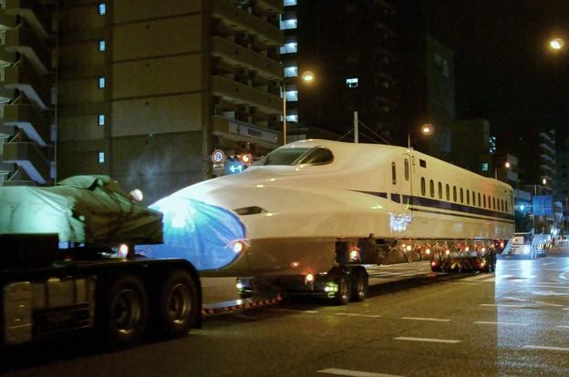 N700A 陸送 先頭車両