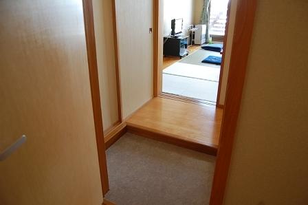 客室前玄関
