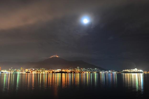 函館港、夜景