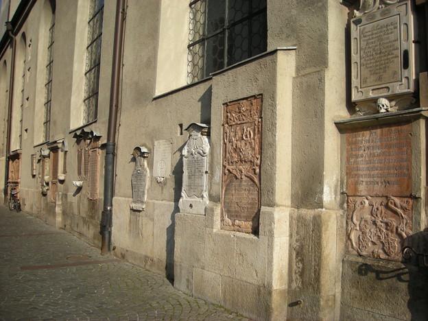 ペーター教会の壁