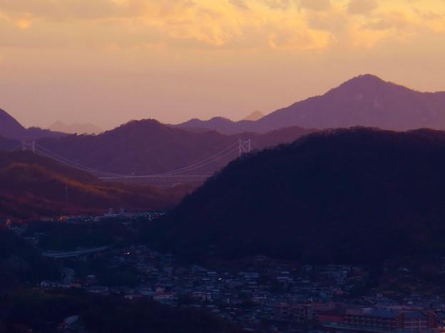 新春暮色 しまなみ海道2015.1.1