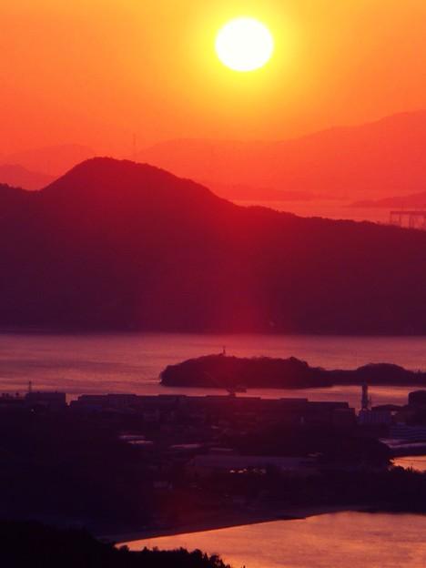 しまなみ海道のバレンタイン・サンセット